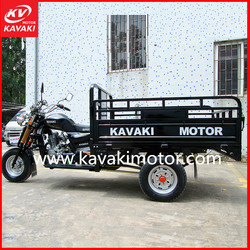 Guangzhou Factory Supply Africa three wheel scooter / tricycle transportation with cargo