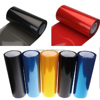 High power led car headlight film / headlight vinyl film for car