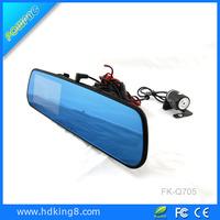 4.3inch wide dual lens recording car dash camera high definition hd 1080p car dvr