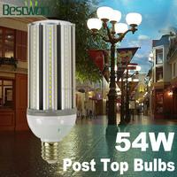 54w 5700lm 360 degree UL avaliable led garden bulb e40 base
