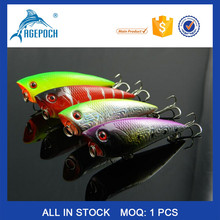 Factory Selling Artificial Fishing Bait Multi Lake Fly Pesca Hard Bionic 6.7cm 7.5g Popper Sea Fishing Bait