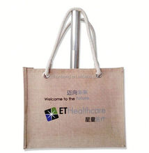 2015 cheap cheap custom printed cheap custom printed jute bagss/ jute handle gift bags/ flag cheap custom printed jute bags