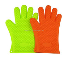 Top Silicone Oven Mitts Kitchen Cooking tools Convenient