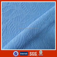 Popular design circular knit polyester jacquard fabric