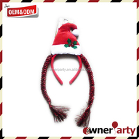 Party Decoration Christmas Hair Bows For Toddlers
