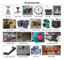 electric controller cabinet ,economizer&feed water pump ,boiler parts
