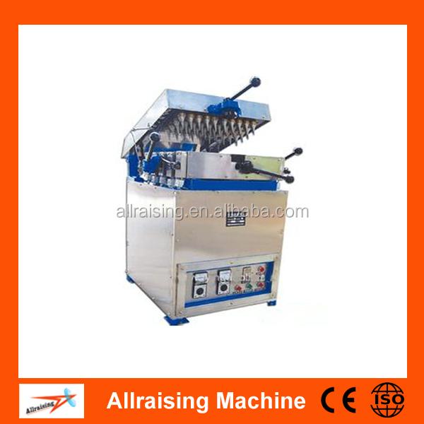 Machines for ice cream cones and rolled sugar cones