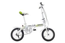 Steel folding bike.16 inch folding bicycle with Aluminum V- brake