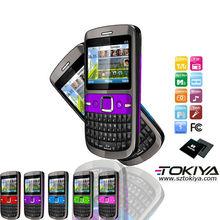 China fábrica de teléfonos ofrecen barato dual sim quad band TV QWERTY teléfono móvil I8s para el mercado de América del Sur