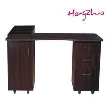 2015 professional technician acrylic wooden manicure desk /nail tables HZ-2030