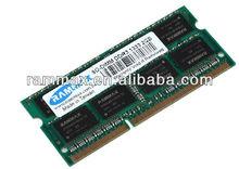 2GB DDR3 RAM 1333MHz 2048MB SODIMM RAM 204pin Arbeitsspeicher PC3-10600 Netbook
