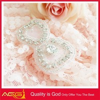 New Arrival Wedding Dress AB Stone Fashion Decorative Bridal Trimming Shinny free hand embroidery patterns
