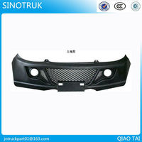 HOWO stainless steel truck bumper
