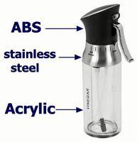 Every family loved products oil vinegar bottle set oil dispensers pump for plastic bottle 150ml