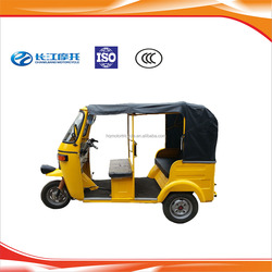 Wholesale gasoline three wheel cabin tuk tuk with factory price