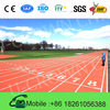 Environment Friendly 13mm athletic rubber run track surface all weather synthetic rubber athletic track