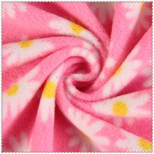 knitting fabric polar fleece with high quality
