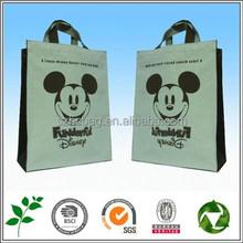 promotional logo printed custom reusable shopping bag on sale