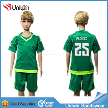 2015 16 Club Green Jersey Children Soccer Uniforms Goalkeeper