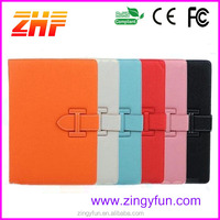 Smart sleeping low price tablet pc leather bumper case for ipad 9 inch tablet pc