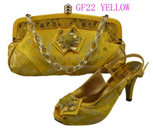 GF22-YELLOW shoes and bags made in italy