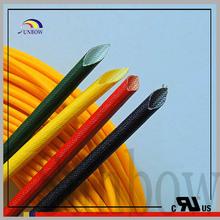UL&CUL certificate 7mm silicone fiberglass hose coated silicone resin insulation