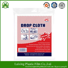 30micron*3m*5m LDPE paint cover film/cover cloth