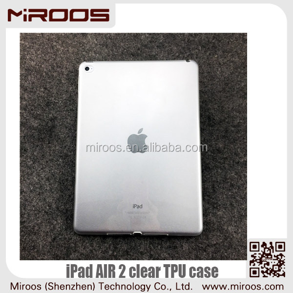 MIROOS scratch resistant smooth outside for clear ipad air 2 case scrubs inside