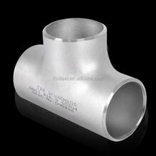 Nickel alloy tee Size 48.2mm X 2.7mm Monel 400 pipe fitting Size 48.2mm X 2.7mm