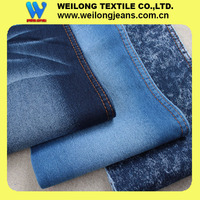B32681E wholesale shorts satin denim fabric thin weight 7oz with good spandex for ladies jeans and dress