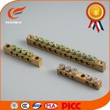 Neutral bar connecting terminal/Ground Bar Custom Machining Brass Neutral Links