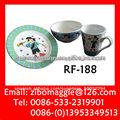 Vajilla de porcelana & desayuno conjunto para los niños y uso diario