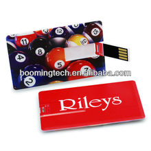 Digital Print Card USB Flash Drive For Promo