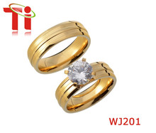 Fashion Jewelry 316L Stainless Steel Wedding Ring