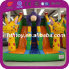 Funny animal giant slide bounce round water slide