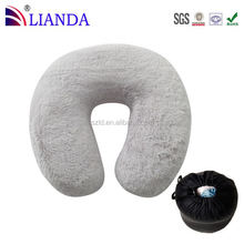 Comes With Elastic Strap Great for Traveling on Airplanes, Buses, Trains Home Fashions Large U best travel neck pillow,