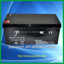 deep cycle AGM battery 12V 200ah with good quality and competitive factory prices