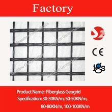 30/30 fiberglass geogrid with CE mark