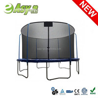 6ft/8ft/10ft/12ft/13ft/14ft/15ft/16ft rent a trampoline with Top Ring Enclosure System with CE certificate