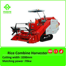 3.2m cutting width Self-propelled Rice Combine Harvester