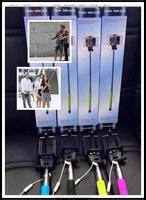 Best sell selfie bluetooth remote shutter wireless remote selfie stick selfie stick for mobile phone camera