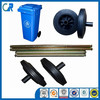 REACH 200mm wheels for trash bins