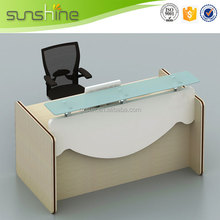 Competitive price hotsell apple reception desk
