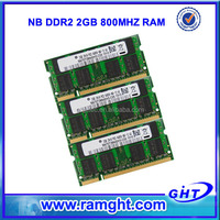 RMA rate less than 1% So-dimm ram ddr2 2gb 200pin 800mhz