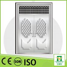 popular design in luxury residential main door stainless steel entrance gate