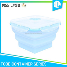 Biodegradable silicone cheap food containers restaurant