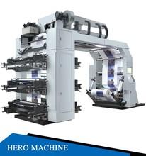 HERO BRAND 4 color Non Woven Bag Printing Machine