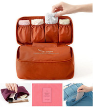 Travelling bag bra storage bag lingerie storage bag