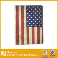 New Arraived Retro Ultral Thin Pu Leather Cover for ipad air