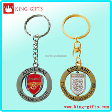3D zinc alloy Metal arsenal football club key chain